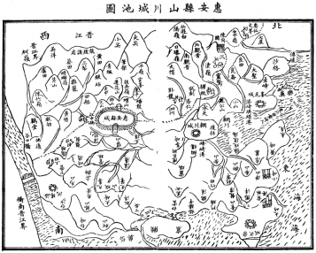 惠安县山川城池图